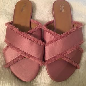 Mauve Slide on Sandals